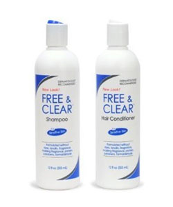 Free & Clear Shampoo and Conditioner